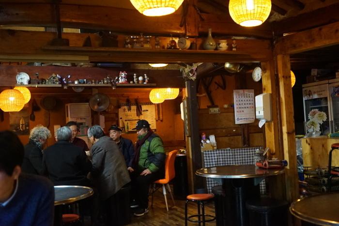 2017年1月 済州島への旅 その2 まずはソウルで。仁寺洞のディープな居酒屋さん_a0223786_19554144.jpg