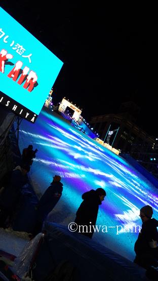 【札幌雪まつり帰省①】初日の夜はイクラとプロジェクションマッピング_e0197587_20561355.jpg