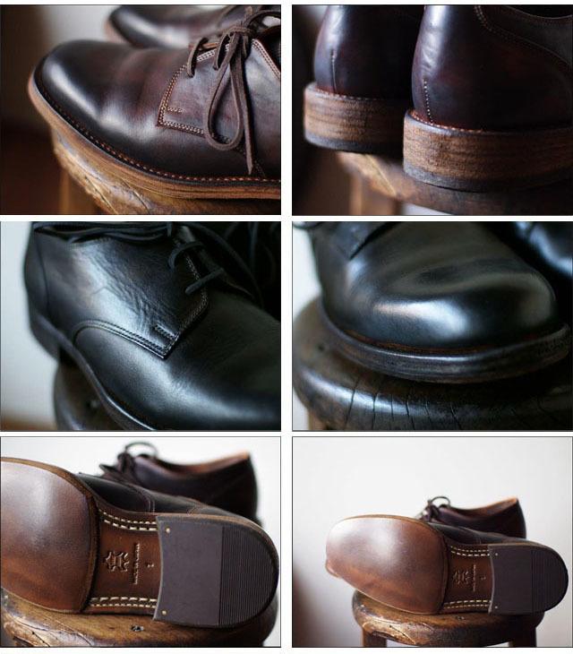 moto leather&silver[モトレザー] Plane Toe Oxford Shoes [プレントゥーオックスフォードシューズ] MSS1【1632】MEN\'S_f0051306_17265025.jpg