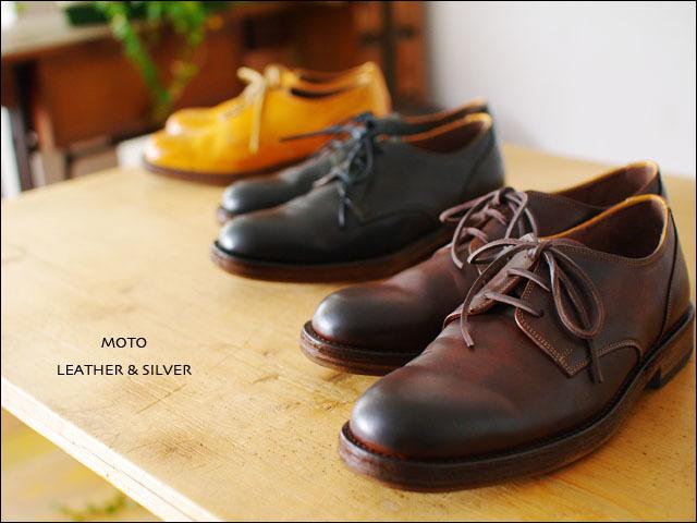 moto leather&silver[モトレザー] Plane Toe Oxford Shoes [プレントゥーオックスフォードシューズ] MSS1【1632】MEN\'S_f0051306_17265073.jpg