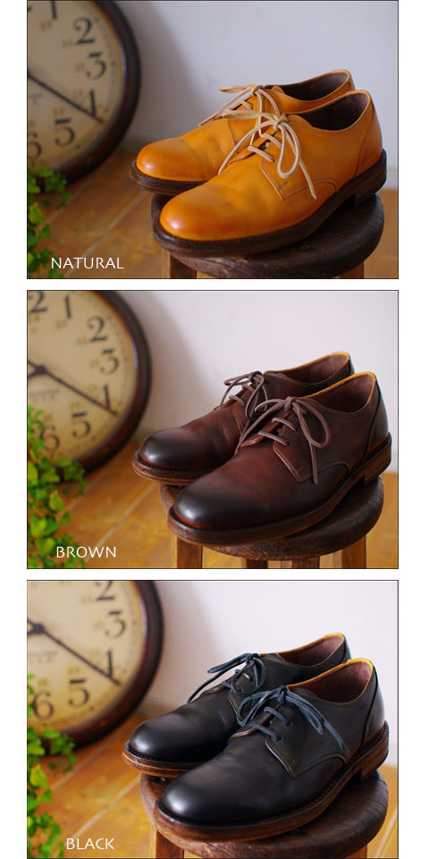 moto leather&silver[モトレザー] Plane Toe Oxford Shoes [プレントゥーオックスフォードシューズ] MSS1【1632】MEN\'S_f0051306_17265077.jpg