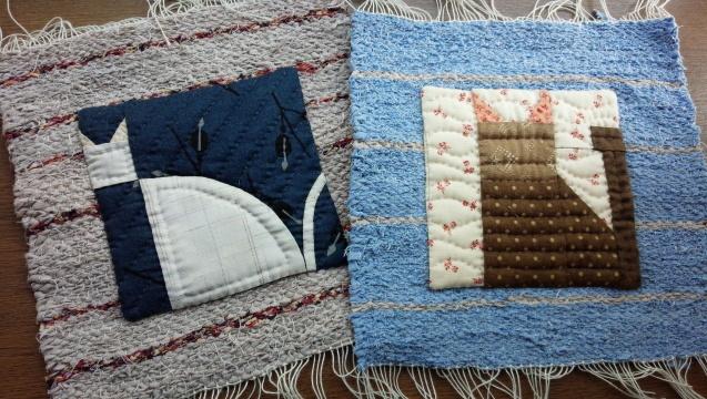 織りとキルトを合わせてみました♪_f0374160_21495634.jpg