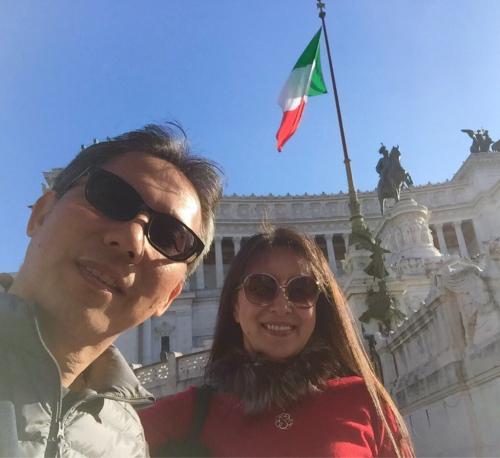 ローマおすすめシーフードレストラン Restorante Due Ladroni イタリア珍道中7日目!ミラノに到着〜〜〜(^^)_f0355367_00452985.jpg