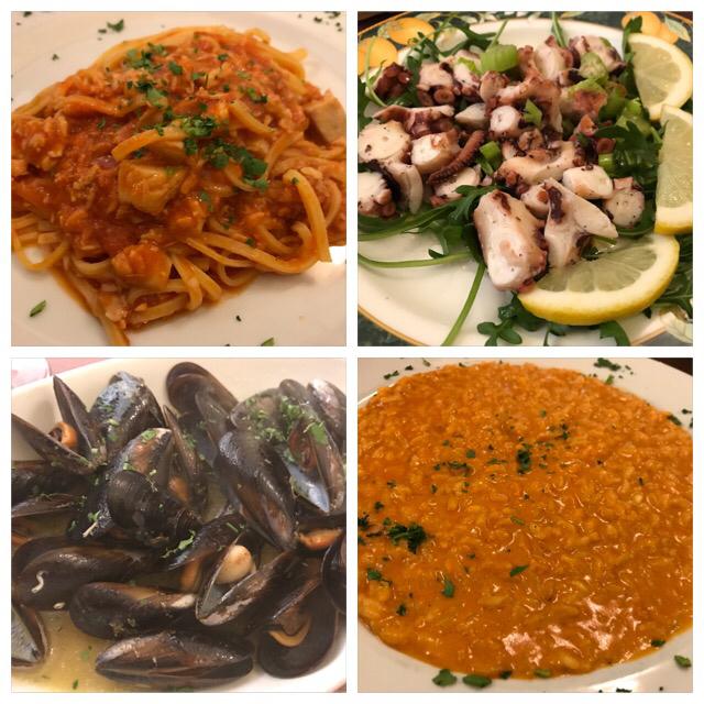 ローマおすすめシーフードレストラン Restorante Due Ladroni イタリア珍道中7日目!ミラノに到着〜〜〜(^^)_f0355367_00550737.jpg