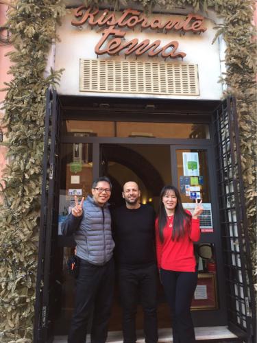 ローマおすすめシーフードレストラン Restorante Due Ladroni イタリア珍道中7日目!ミラノに到着〜〜〜(^^)_f0355367_00550832.jpg