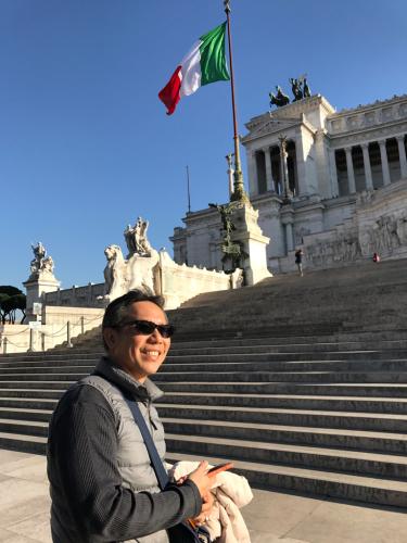 ローマおすすめシーフードレストラン Restorante Due Ladroni イタリア珍道中7日目!ミラノに到着〜〜〜(^^)_f0355367_01002556.jpg