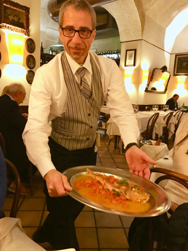 ローマおすすめシーフードレストラン Restorante Due Ladroni イタリア珍道中7日目!ミラノに到着〜〜〜(^^)_f0355367_07240654.jpg