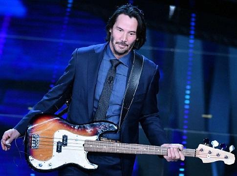 サンレモ音楽祭のキアヌ・リーブス (Keanu Reeves al festival di Sanremo)_e0059574_2361497.jpg