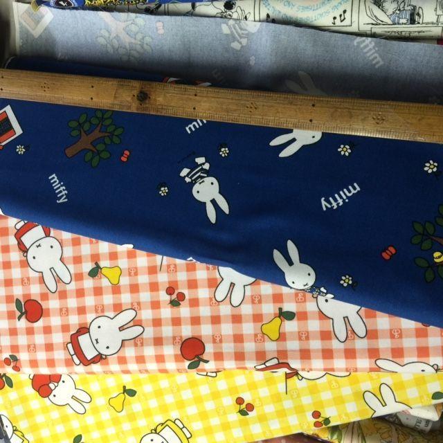 ミッフィの布、旧柄ですが、_d0156706_09593873.jpg