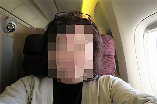 羽田→パリJAL045便 ビジネスシート_c0134734_18331880.jpg