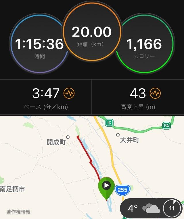 静岡マラソン前 最後の20kmペース走_f0310282_20522096.png
