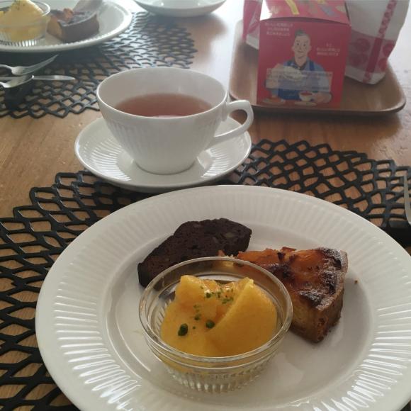金柑スイーツでお茶の時間。_b0065587_19223475.jpg