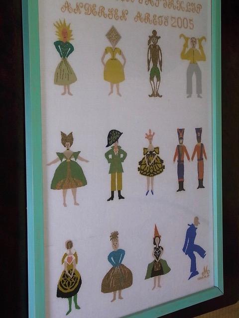 アンデルセンの切り絵のカレンダー_e0158687_2265784.jpg