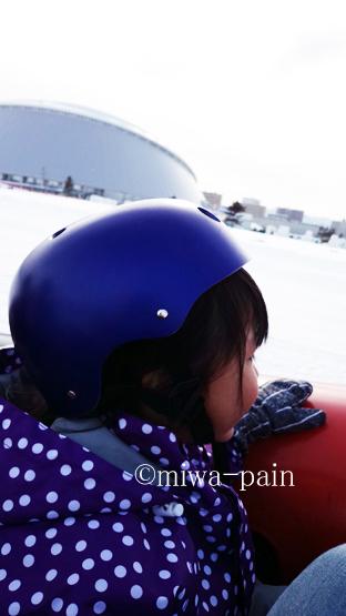 【札幌雪まつり帰省②】つどーむ会場は雪遊び天国!_e0197587_20204641.jpg
