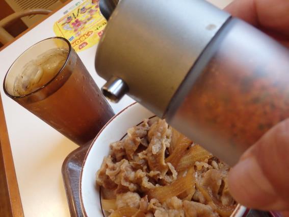 すき家の牛丼ミニしじみ汁たまごセット 南塚口七丁目店_c0118393_9244258.jpg