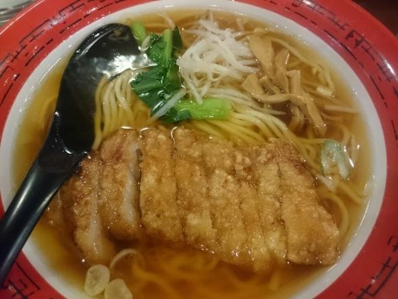 2/19  万世麺店新宿西口店  排骨拉麺 ¥850_b0042308_19163339.jpg