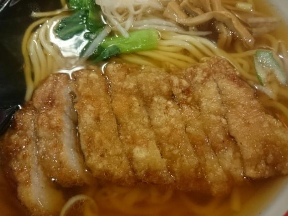 2/19  万世麺店新宿西口店  排骨拉麺 ¥850_b0042308_19163636.jpg
