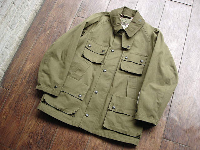 "NEW : Nigel Cabourn [HUNTING JACKET] ""HALFTEX"" 2017 SPRING !!_a0132147_1617364.jpg"