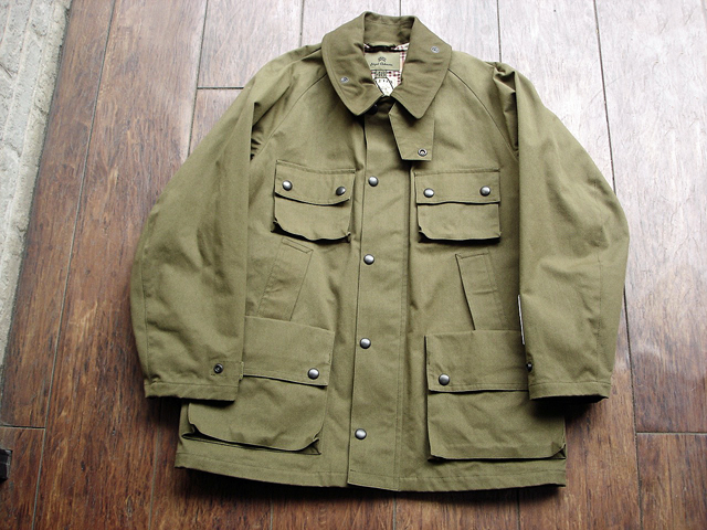 "NEW : Nigel Cabourn [HUNTING JACKET] ""HALFTEX"" 2017 SPRING !!_a0132147_1617438.jpg"