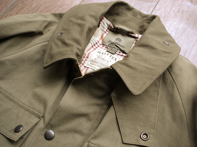 "NEW : Nigel Cabourn [HUNTING JACKET] ""HALFTEX"" 2017 SPRING !!_a0132147_16174988.jpg"