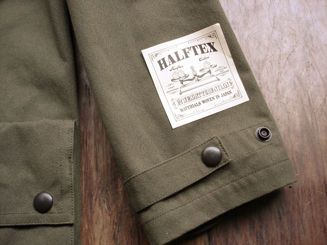 "NEW : Nigel Cabourn [HUNTING JACKET] ""HALFTEX"" 2017 SPRING !!_a0132147_16182171.jpg"