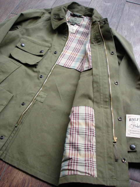 "NEW : Nigel Cabourn [HUNTING JACKET] ""HALFTEX"" 2017 SPRING !!_a0132147_16185870.jpg"
