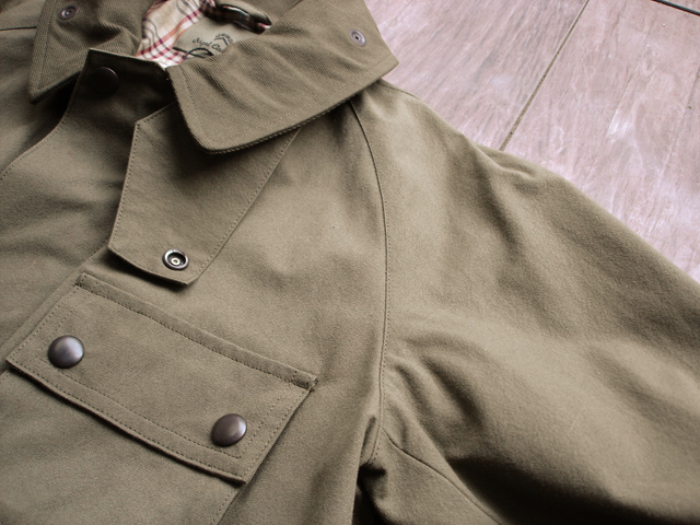 "NEW : Nigel Cabourn [HUNTING JACKET] ""HALFTEX"" 2017 SPRING !!_a0132147_1618616.jpg"