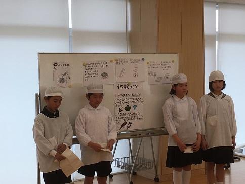 第一学園5年生 「菓子木型発表会」_c0227958_07304290.jpg