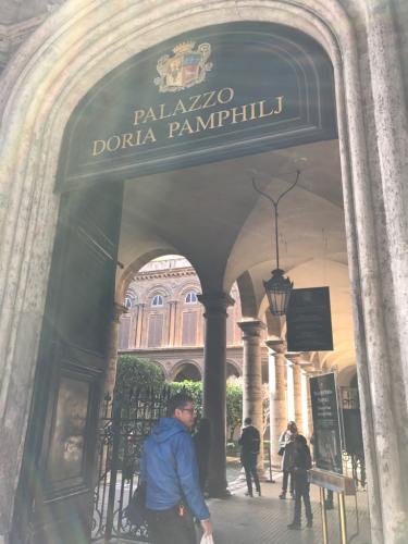 イタリア珍道中 ローマの休日 最後の日!!!おすすめ!Palazzo Doria Pamphilj ドーリア パンフィーリ美術館_f0355367_01253855.jpg