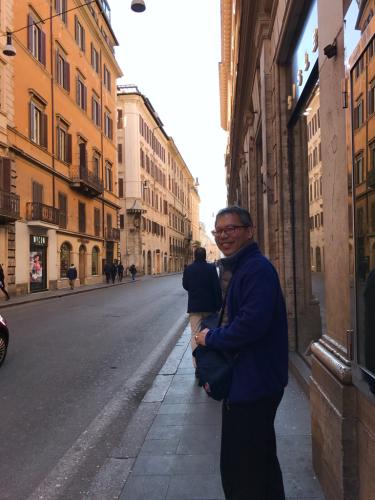 願いを込めて♡ ローマからバンコクへ!最後の朝モーニングカフェ♡ _f0355367_10040459.jpg