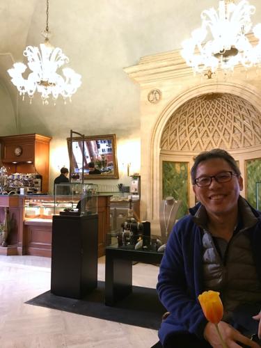 願いを込めて♡ ローマからバンコクへ!最後の朝モーニングカフェ♡ _f0355367_10040781.jpg