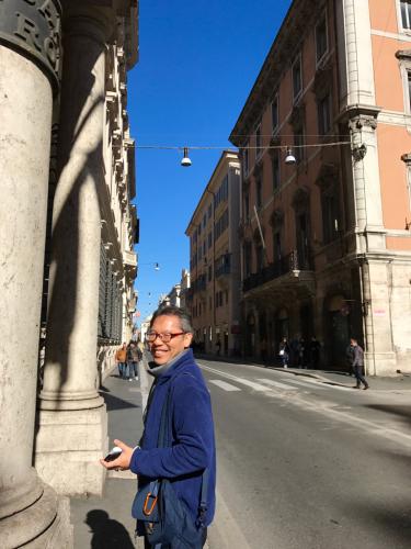 願いを込めて♡ ローマからバンコクへ!最後の朝モーニングカフェ♡ _f0355367_10052101.jpg