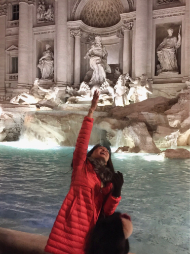 願いを込めて♡ ローマからバンコクへ!最後の朝モーニングカフェ♡ _f0355367_10401024.jpg