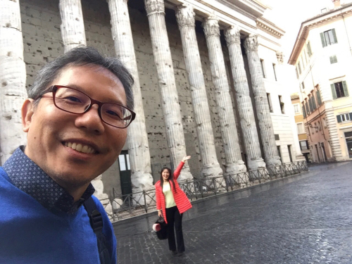 願いを込めて♡ ローマからバンコクへ!最後の朝モーニングカフェ♡ _f0355367_10500125.jpg