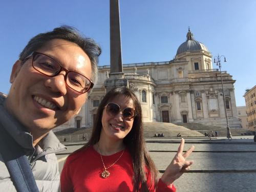 願いを込めて♡ ローマからバンコクへ!最後の朝モーニングカフェ♡ _f0355367_10500218.jpg