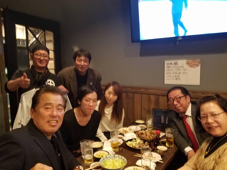 大将、藤川さん、江戸さん、蔡さん、男の友情に心より感謝申し上げます。_c0186691_1231920.jpg