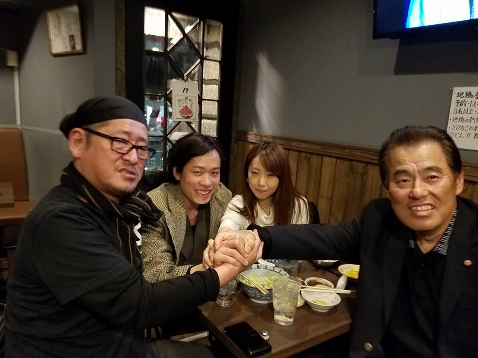 大将、藤川さん、江戸さん、蔡さん、男の友情に心より感謝申し上げます。_c0186691_1235587.jpg
