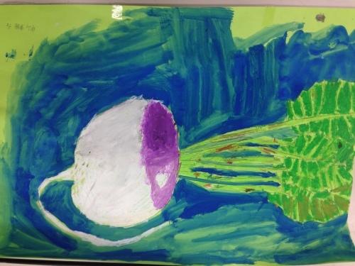冬野菜を描く_e0167771_06375900.jpg