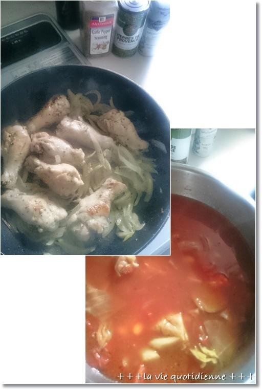 今週の常備菜☆今週もダンナさんが作ってくれたアレと私が作った7品。_a0348473_08573708.jpg