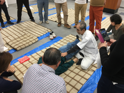 日本あん摩マッサージ指圧師会 合同実技研修会_a0112393_09345355.jpg