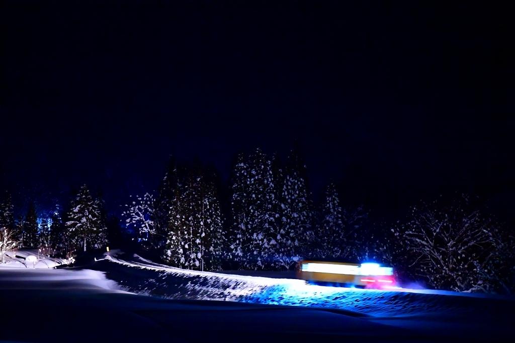 秋田内陸縦貫鉄道 夜光列車 本番_f0050534_11550399.jpg