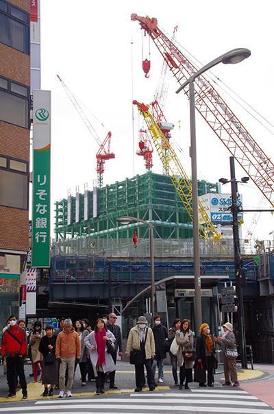 2月22日(水)今日の渋谷109前交差点_b0056983_11560509.jpg