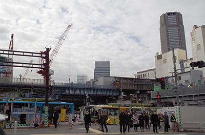 2月22日(水)今日の渋谷109前交差点_b0056983_11560531.jpg