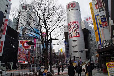 2月22日(水)今日の渋谷109前交差点_b0056983_11560729.jpg