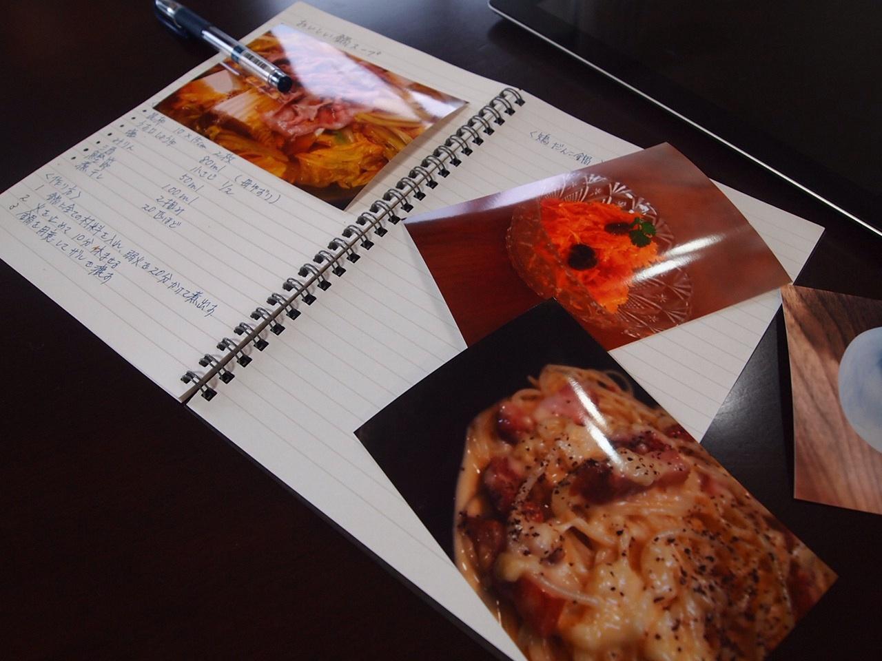 料理ノートを作る_a0258686_7592851.jpg