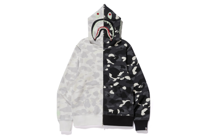 CITY CAMO HALF SHARK FULL ZIP HOODIE_a0174495_15580552.jpg