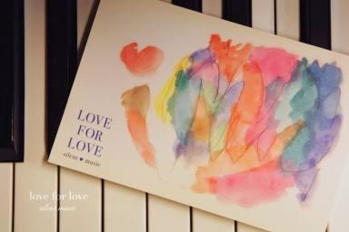 愛から愛へ  ❤「LOVE FOR LOVE」展    展示風景_c0203401_18113939.jpg