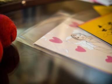 愛から愛へ  ❤「LOVE FOR LOVE」展    展示風景_c0203401_20301397.jpg