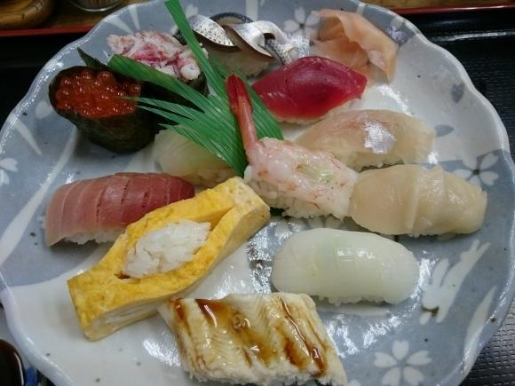 2/22夜勤明け 市場寿司たか 名物にぎり¥1,000 + 小肌¥150 @八王子卸売センター_b0042308_16005733.jpg