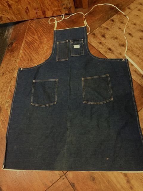 2/25(土)入荷!60s SEARS vintage denim APRON エプロン!_c0144020_15191391.jpg